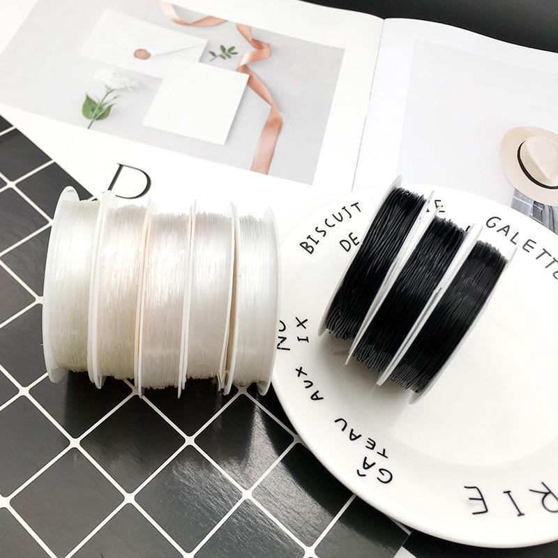 U1GEA cristallo trasparente corda elastica fai da te perline perline perline corda resistente Accessori fai da te possono indossare agata braccialetto Buddha perline st