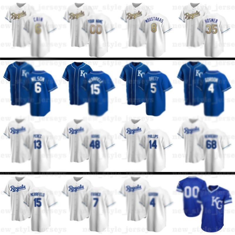 NCAA Custom 4 Alex Gordon 35 Eric Hosmer 16 Bo Джексон 13 Сальвадор Перес Бейсбол Патрик Махомы Хорхе Солер 31 Ян Кеннеди