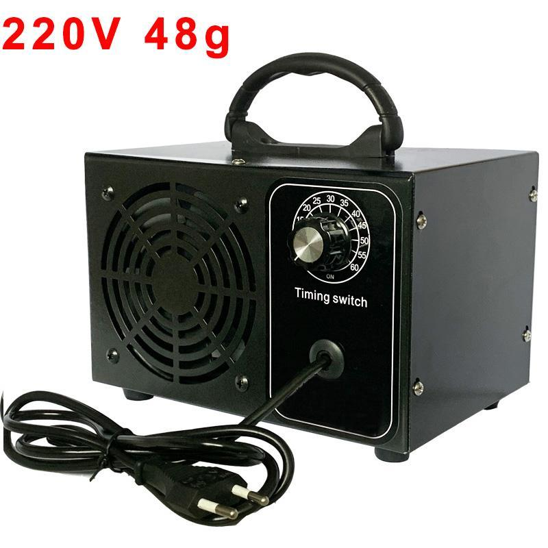 Purificateur d'air purificateur d'ozone Purificateur 220V pour la maison Ozonateur 48g Ozonizer Ozono Desinfection Nettoyeur Machine de désinfectant