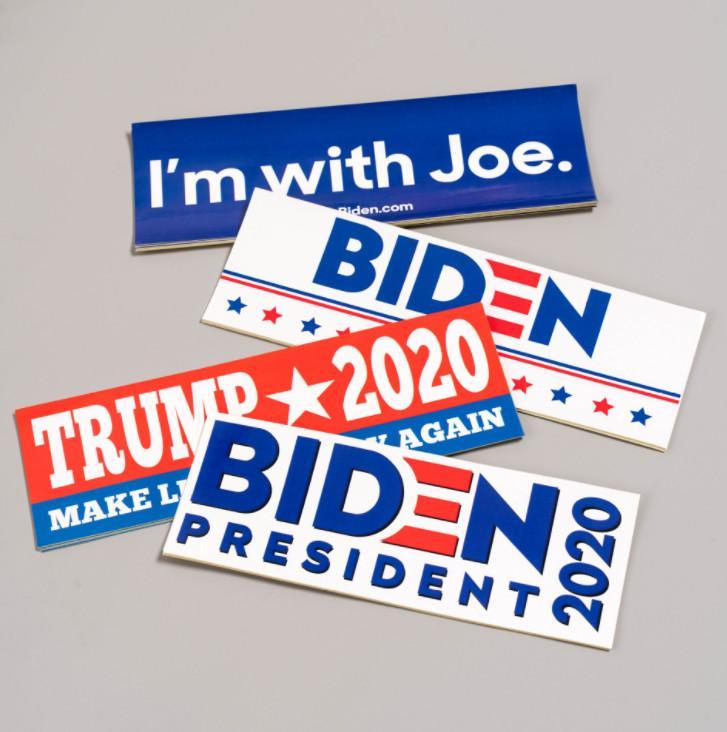 أحدث 22.9X7.55CM حجم 1 حزمة = 10 الولايات ملصقات الانتخابات الرئاسية الديكور، وملصقات الرئيس الأمريكي بايدن، وحرية الملاحة،