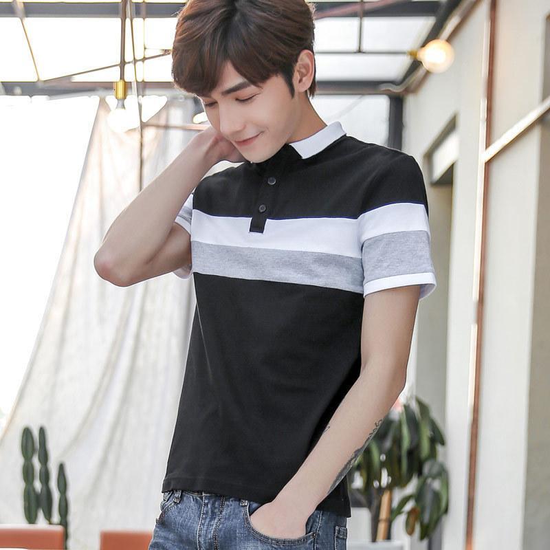 MRMT 2021 Nouvelle chemise à manches courtes à manches courtes pour homme pour homme décontracté mâle en coton mince à mi-manches hachuées