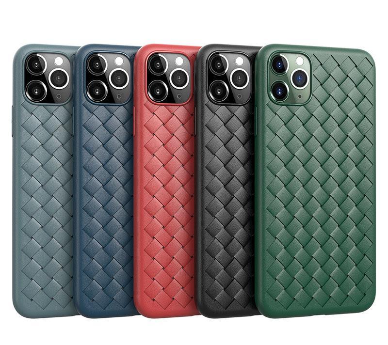 통기성 메쉬 전화 케이스 아이폰 Sasmung S20 울트라 냉각 전화 커버 쉘 (11) 프로 맥스 XS 6 7 8 플러스 SE 2020 제직 그리드 커버