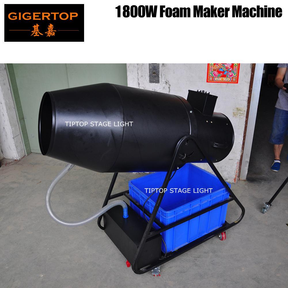 TIPTOP TP-T106 Супер большой пены машина Высокоскоростная масло Suck насос / нагнетательный вентилятор пены Выход Объем 20м3 / мин Электрическое Ручное управление