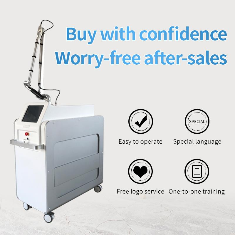 factory Wholesale 1064nm 755nm 532nm Picosecond Q switched Nd Yag Laser Picosecond Pico Laser Tattoo Removal machine