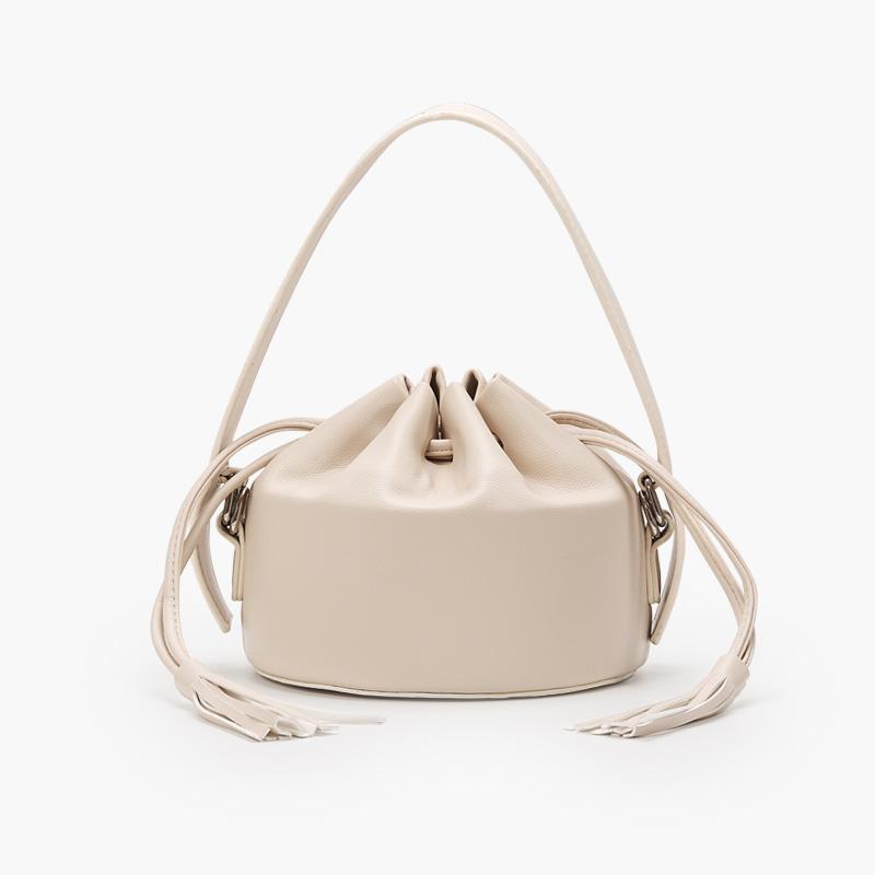 Специальная кисточка кожаная сумка ковша модная сумка Messenger дамы нишевая сумка PU Lady Damies Designing DrawString Retro Lady Bag VHDFB