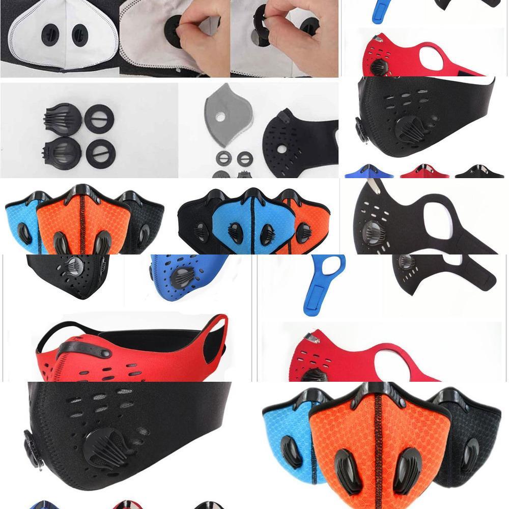 Домохозяйство наполовину PCS Masks 1 Hom Face Защитная тренировочная маска Анти-загрязнение работает Activatt1bb 742x GA59