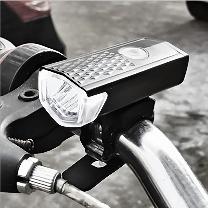 Wasserdichte USB-LED-Mountainbike-Fahrrad-Beleuchtung wiederaufladbare Zyklus vorne hintere Scheinwerferlampe