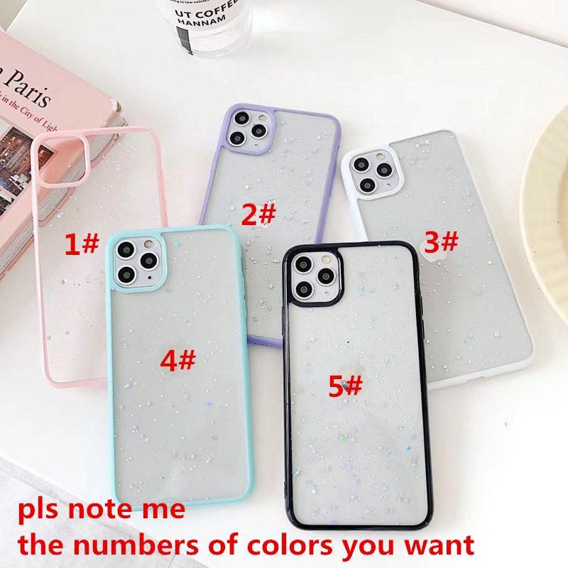 Для iPhone 12 Mini iPhone 12 Pro Телефон Case Creative Candy Colors Shell Anti-Drop 11 XS Max Case 7/8 Plus