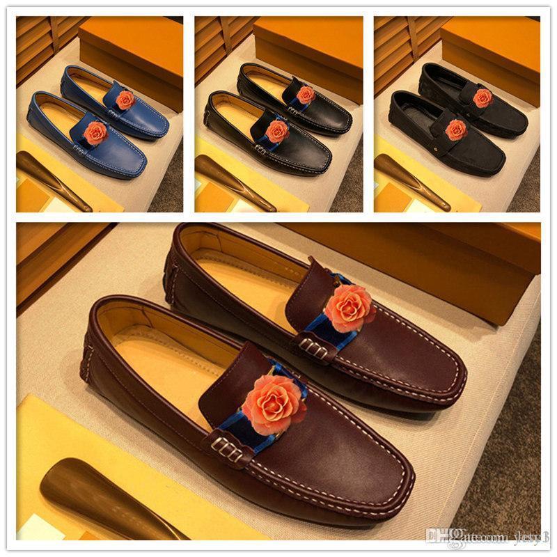 C3 Moda Erkekler Ayakkabı Deri Nefes Rahat Ayakkabılar Erkekler Erkekler Için Ayakkabı Kayma Loafer'lar Flats Kauçuk Siyah Yaz 2020 Büyük Boy 46 22