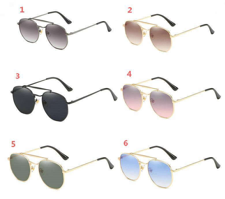 Lunettes de soleil. Lunettes de soleil Google Métal Sun 5pcs / Lot et lunettes 6Colors Lunettes 2020 pour Femmes Hommes Nouveau Qlkox