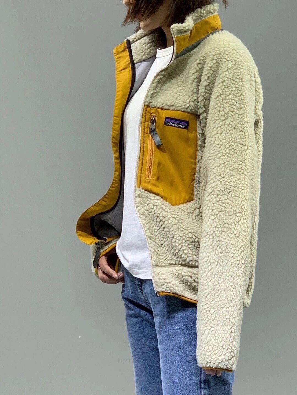 Ретро-теплые классические Patagonia осень толстые зимние пары моделей овечника кашемировый флис для мужчин женщин 7448