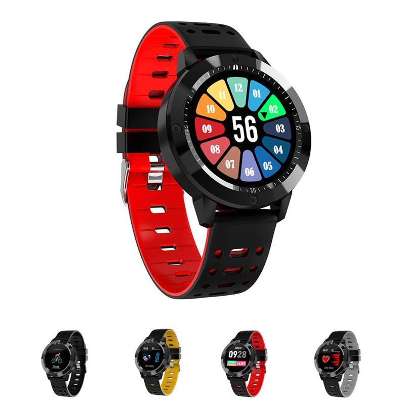 CF58 Smart Watch Blut Sauerstoff Blutdruck Herzfrequenzmonitor Tracker Sports Smart Armbanduhr Fitness Tracker Armband Für iPhone Android