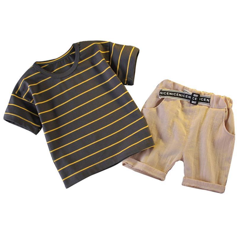 Moda infantile estate ragazzi abbigliamento neonato neonati vestiti set abiti vestito costume bambino per bambini set di abbigliamento Y200829