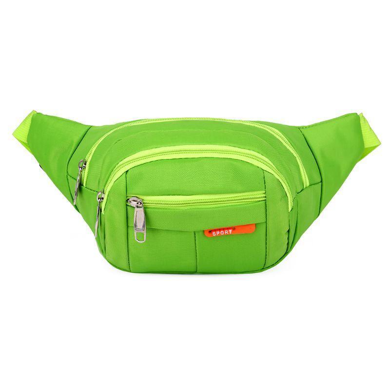 Tasche Packung für Packungen Fanny Taille Sport Bunte Unisex Waistbag Gürtel Outdoor Reißverschluss Bump Bag Tasche Mann Wasserdichte Frau Absac