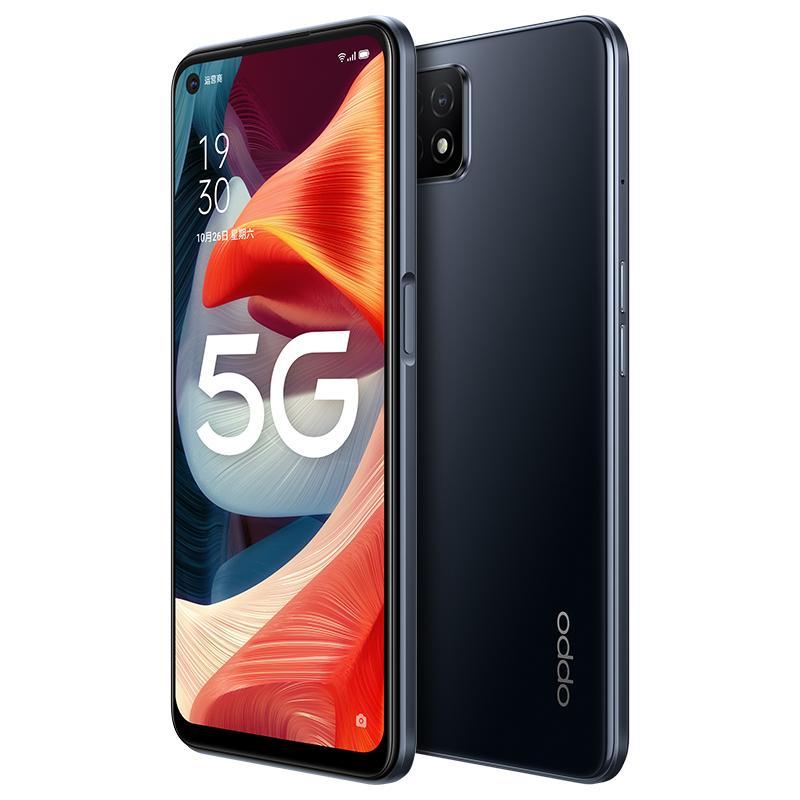 """Original Oppo A53 5G Mobile Phone 4GB RAM 128GB ROM MTK 720 Octa Core Android 6.5"""" Full Screen 16MP AI Face ID Fingerprint Smart Cell Phone"""