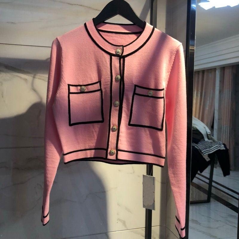 2020 mulheres Cardigan elegante senhoras camisola de invernoknitted outfit de inverno coberta pescoço casaco de malha vestuário casual roupa de malha blusa top