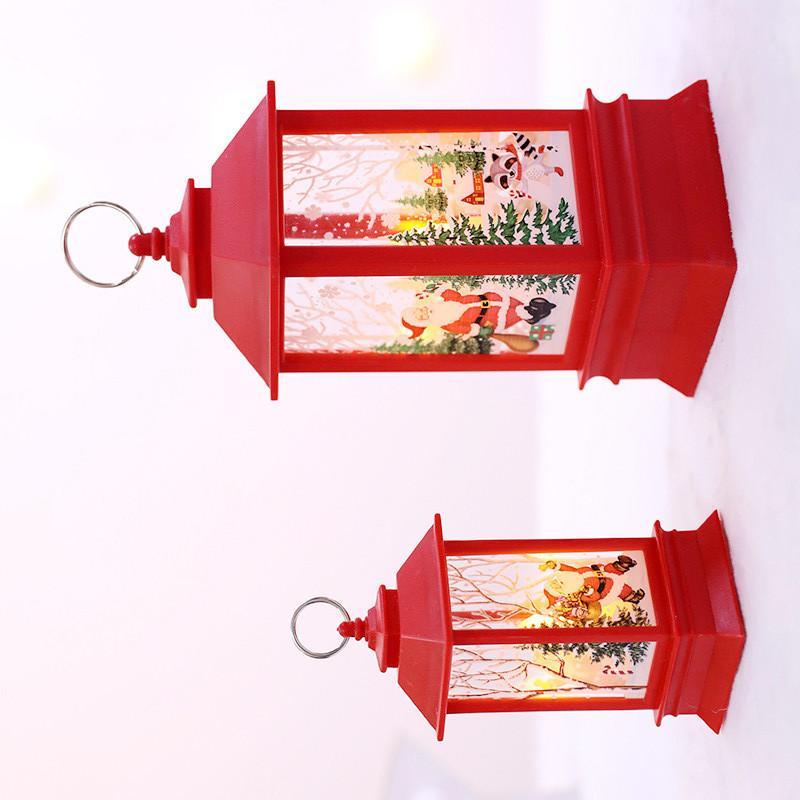Der Fabrik salesChristmas neues Produkt führte kleine Öllampe Simulation Flamme Lampe Fensterleiste decorationlamp tragbare lampChristmas decora46
