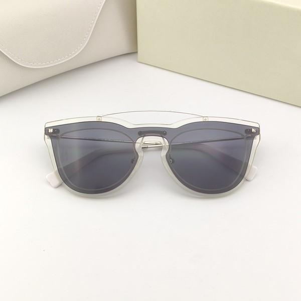 4008 neue Art und Weise Frauen-Sonnenbrille Katzeauge Schmetterling-förmige Rahmen neue Sende boxsunglasses einfache Atmosphäre Allgleiches UV400 Schutz