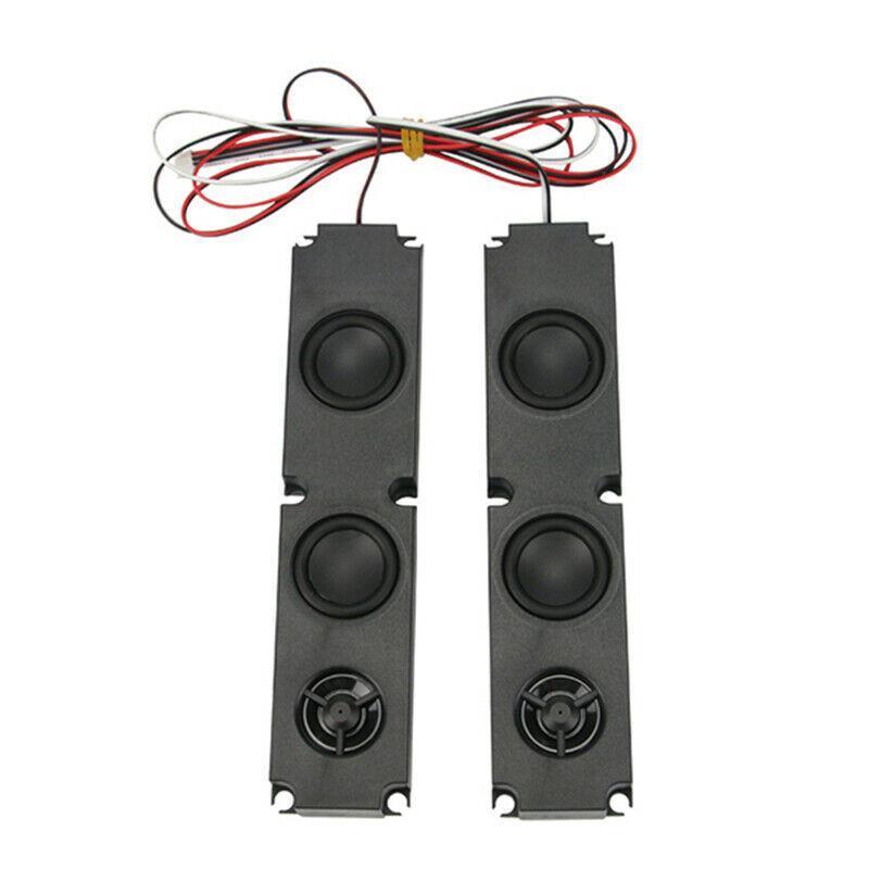 1 par de 8 OHM 10W DIY LCD TV-falante com baixo pesado efeito de gama completa Publicidade TV Speaker Acessórios Reparação