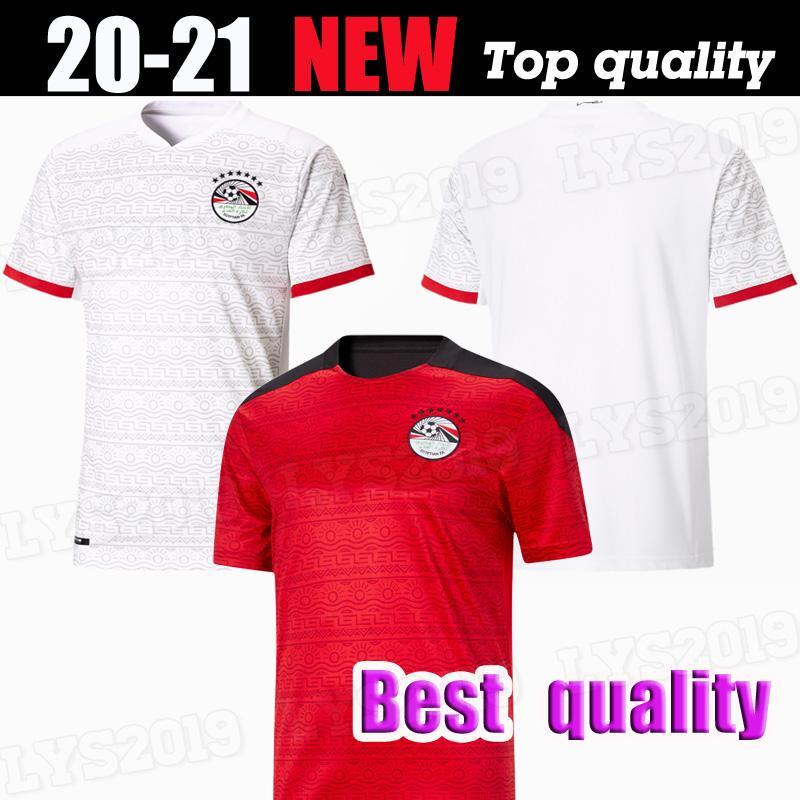 Thai Quality 2020 Nuovo Egitto M. Salah Soccer Jerseys Casa Away 20 21 Kahraba A. A. Hegazi Ramadan Camicia da calcio nazionale squadra nazionale