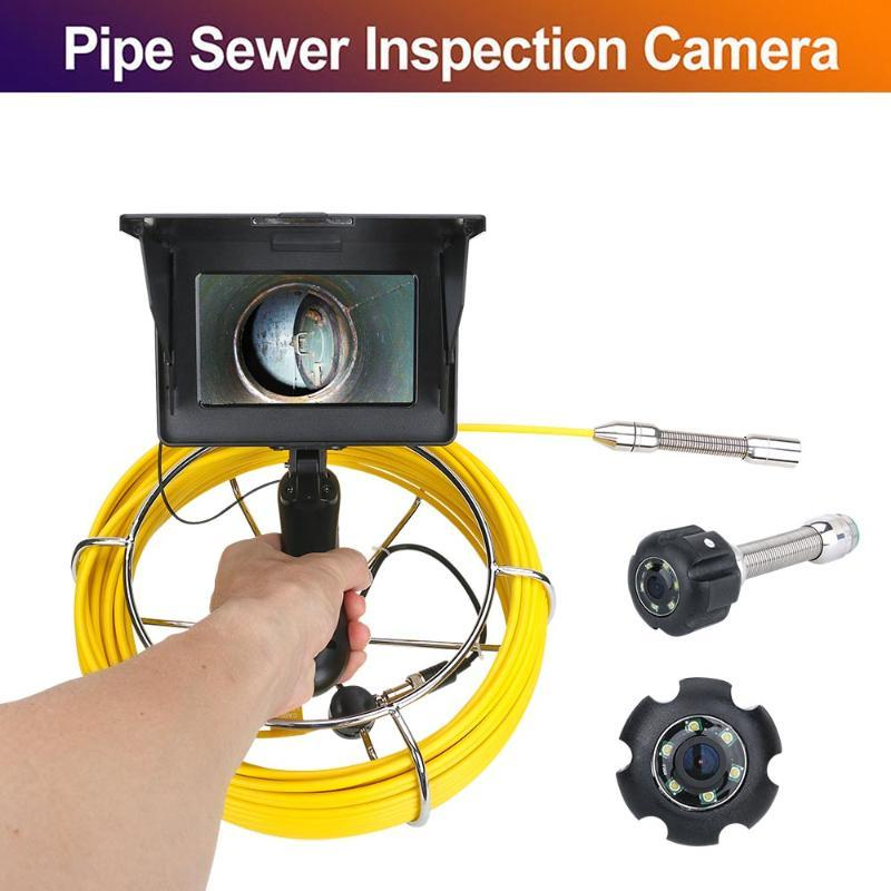 Kameras 5inch 22mm Handheld Industrial Pipe Seal Inspection Videokamera IP68 Wasserdichte Abflusssystem