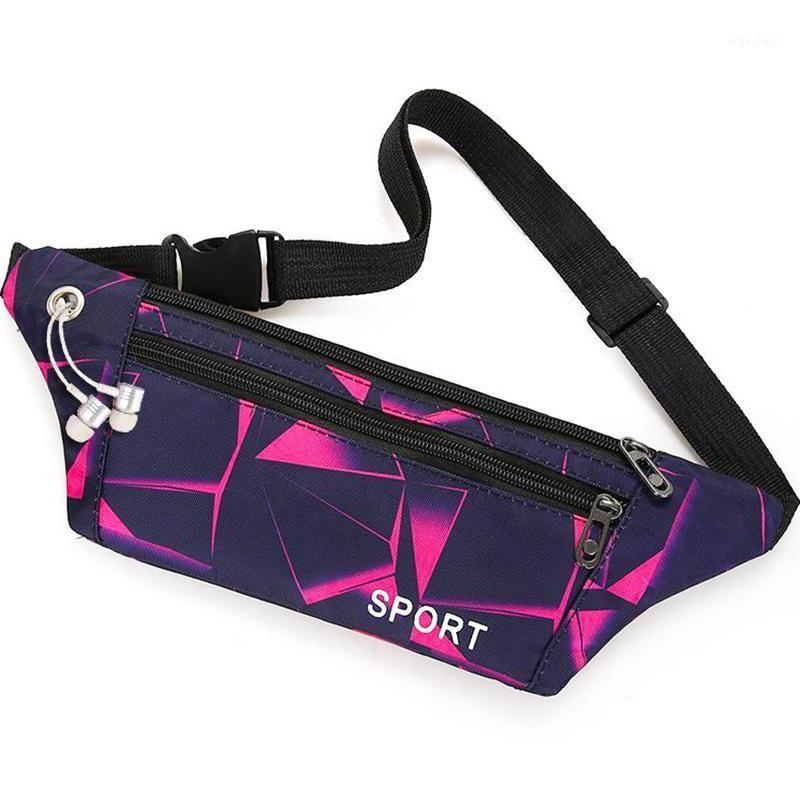 Профессиональный бегущий талия сумка унисекс водонепроницаемый спортивные сундук сумки портативный тренажерный зал мешок водонепроницаемый женщин ZIP Fanny Pack 2020 New1