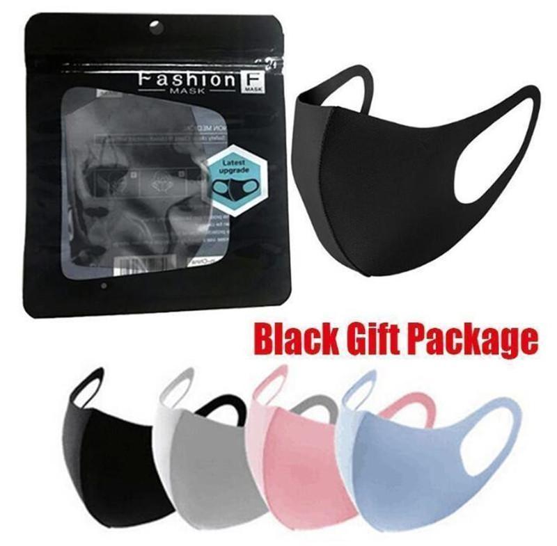شحن مجاني 3-7 أيام إلى الولايات المتحدة مكافحة الغبار غطاء الوجه pm2.5 قناع التنفس الغبار المضادة للبكتيريا قابل للغسل قابلة لإعادة الاستخدام قناع القطن الحرير الجليد