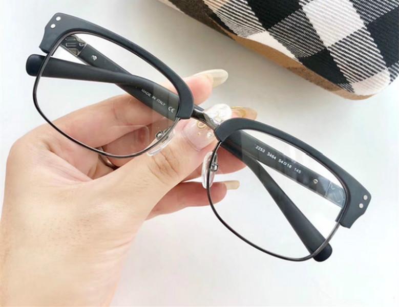 نيو ستار ريترو خمر B2253 الحاجب موضة النظارات المستطيلة إطار للجنسين 54-18-145 عن النظارات الطبية مع كامل مجموعة حالة الشحن