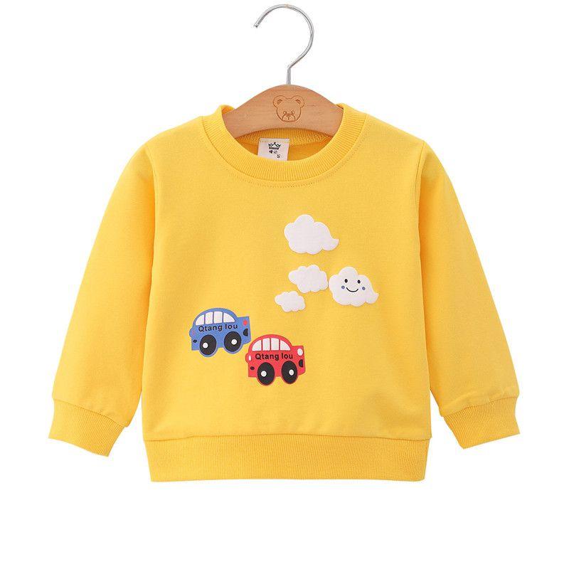 I bambini Pullover Felpe ragazza dei ragazzi bambini Felpa Tops neonati di autunno della molla dei vestiti del bambino Felpa Baby Boy Outfit