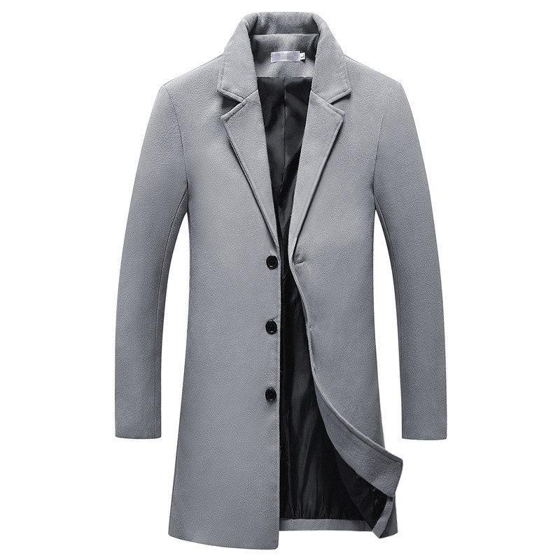 Giacche di lana del cappotto di media lunghezza di auto-coltivazione mrmt Uomo Marca del 2020 cappotto Uomo Windbreaker esterno di vestiti di usura
