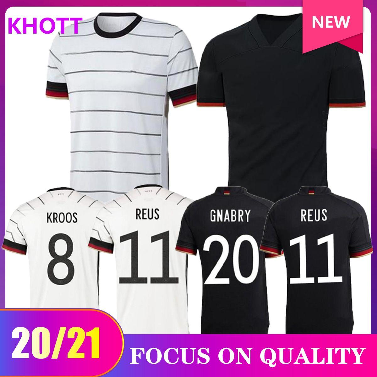 2020 Jersey di calcio 2021 Casa Away Tista Camicie da calcio Uniformi Germania Adult Men Kit