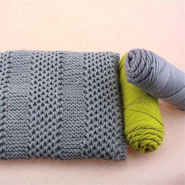 Caldo 5 sfera / lot 500g seta naturale fibra morbida latte cotone organico maglia crochet filato di lana spessa per filo per maglieria, Z3501 C1030