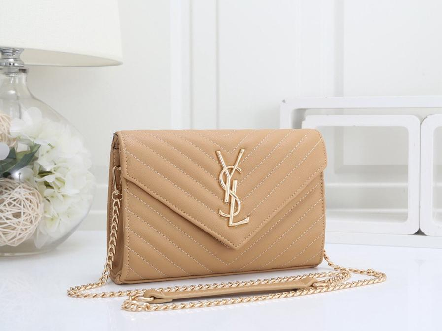 Los diseñadores de la venta caliente del cuero Cruz Body Bags Mujeres clásico bolso de la cadena de moda Lady individual del monedero del hombro de calidad superior del bolso del totalizador NEE15