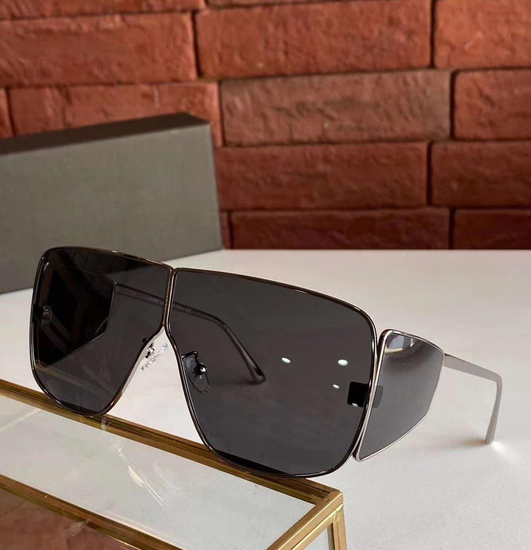 SPECTOR Dark Ruthenium Gris Lens Bouclier Lunettes de soleil 708 unisexe Lunettes de soleil design haut qualité neuf avec boite