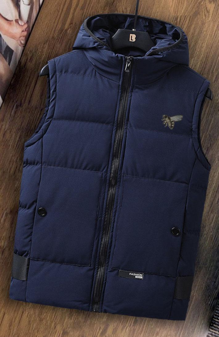 2020 di alta qualità verso il basso autunno uomini gilet di cotone e maglia di caldo uomini giacca spalla di inverno della gioventù giù cappotto giacca di cotone