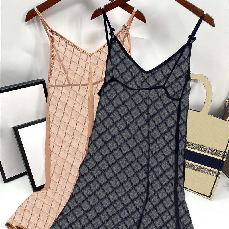 패션 인쇄 Womens Lace Sleepdress 얇은 통기성 여성 섹시한 란제리 매력 숙녀 결혼식 속옷 드레스 블랙