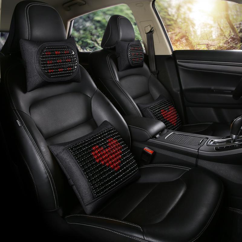 Para apoyar cuentas de cuentas de asiento de carro de carro de madera soporte trasero interior soporte lumbar soportes de cintura oficina 2020 cubierta caliente accesoreis1 pwjak