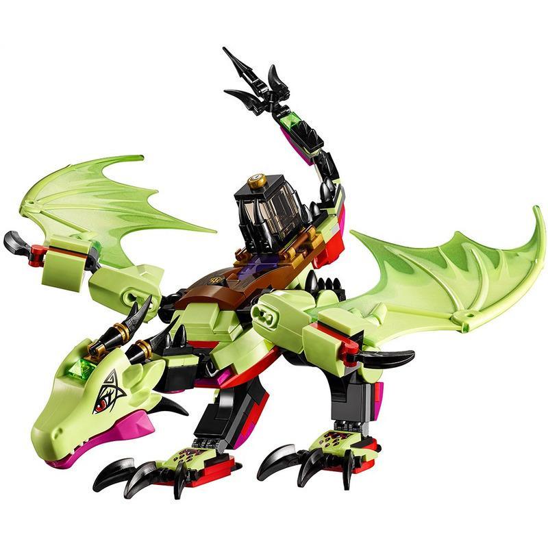 10695 эльфы совместимые Lepining друг злой дракона Goblin king's злых строительных блоков кирпичи игрушки модель девушка 41183 дети подарок lj200925