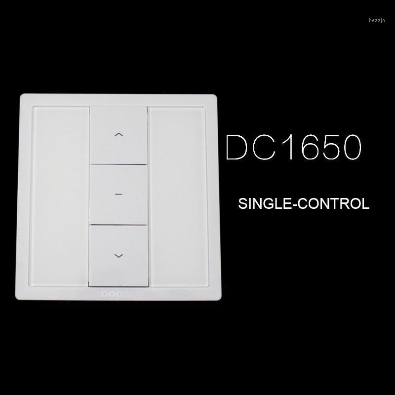 Dooya wall switch DC1650 DC1651 SINGLE DOUBLE CHANNEL remote control,DC1680 DC114B single receiver with wires for tubular motor1