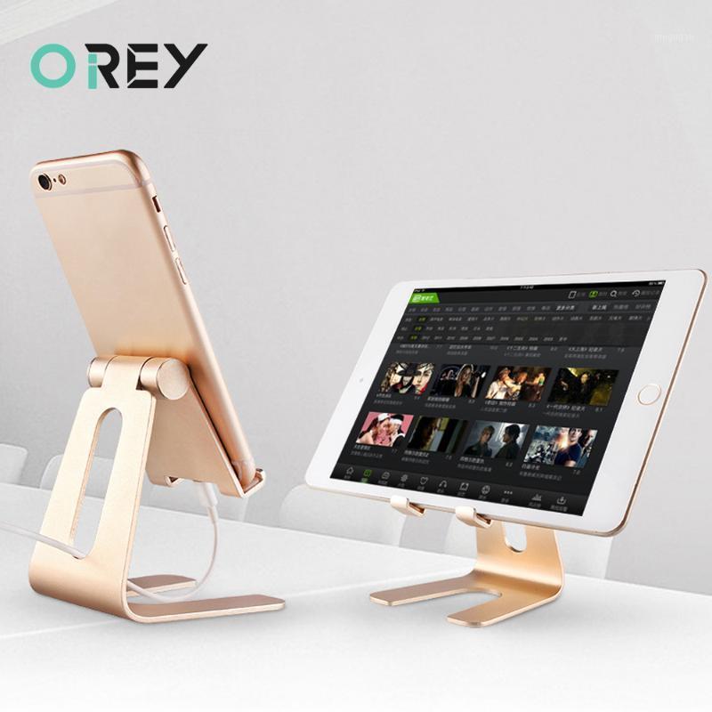 Evrensel Alüminyum Standı Masa Tutucu Cep Telefonu Tutucu Metal Tabletler Için Için Ipad Tablet Lazy1