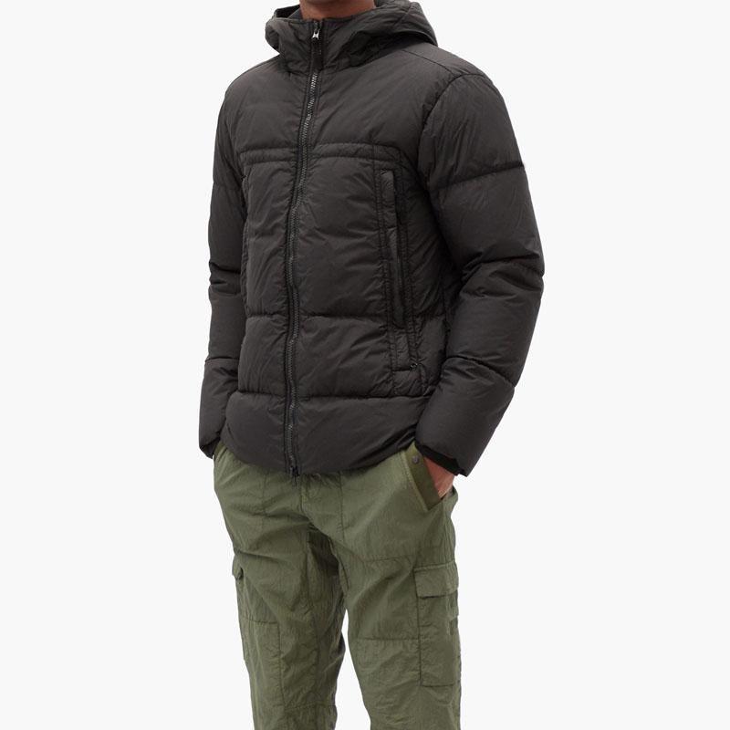 19FW Пальто с капюшоном Parka мужская зимняя куртка ветровка Parkas вниз пальто толстые куртки мужские моды куртки азиатский размер мужская одежда