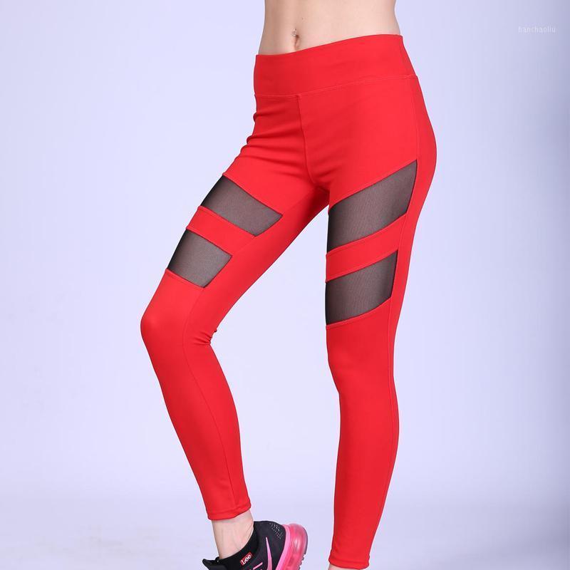 Leggings deporte mujeres fitness yoga pantalones deportes desgaste para las mujeres gimnasio malla leggings alta cintura costura apretada aptitud Pantalones de yoga