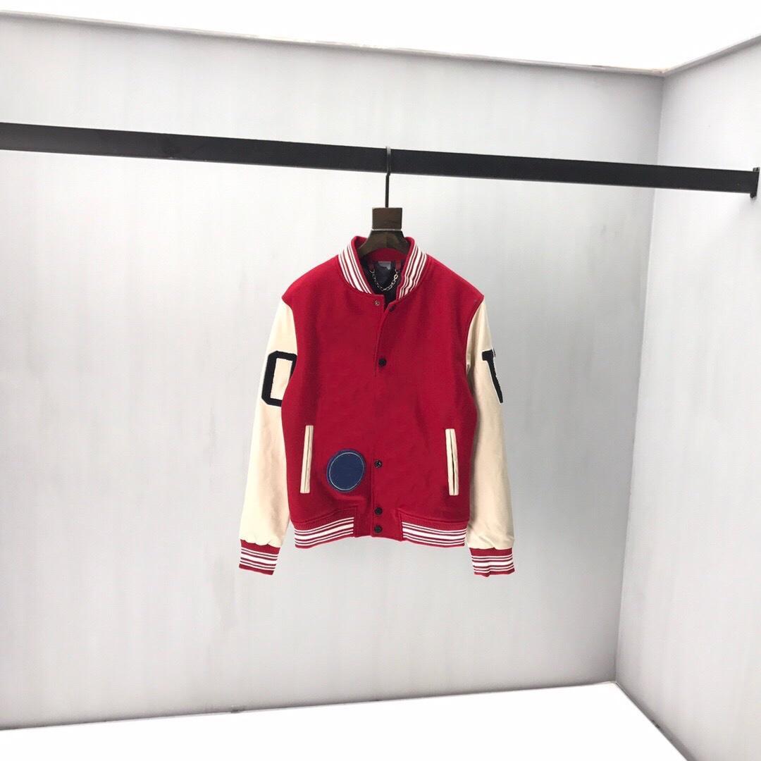 2020сс Весна и лето Новый высококачественный хлопчатобумажный печать с коротким рукавом круглые шеи панель футболки Размер: M-L-XL-XXL-XXXL Цвет: черный белый QQ18