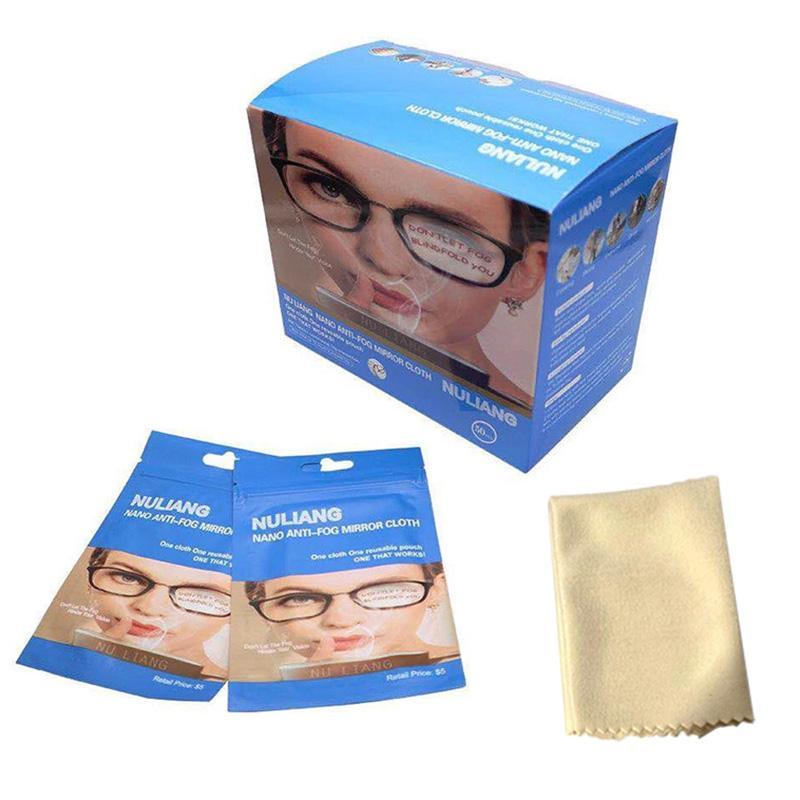 ستوكات نظارات نظافة نظارات عدسة التعبئة المضادة للضباب القماش مرآة للنظارات عدسات شاشة الهاتف كاميرا