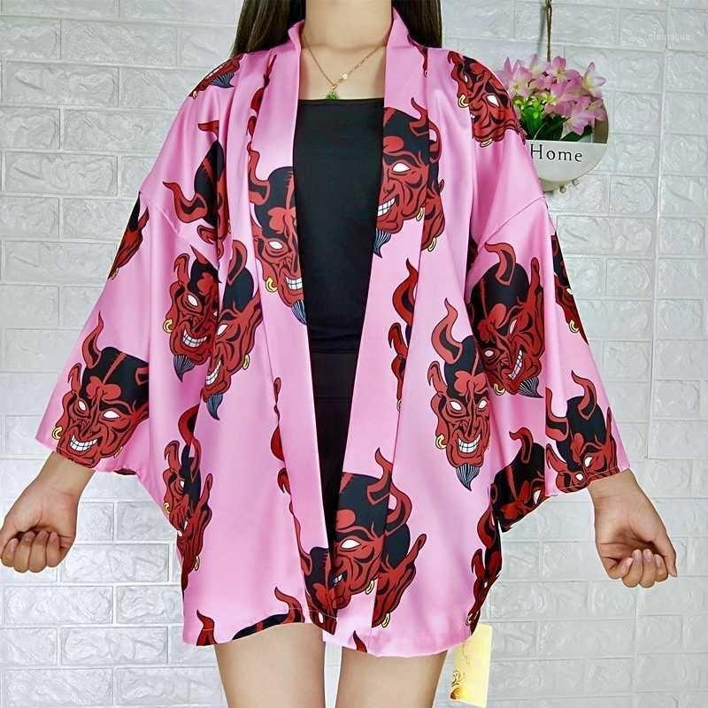 Kimono cardigan Japanese clothing harajuku kawaii womens tops and blouses summer 2020 Japanese kimono blouse shirt 0011