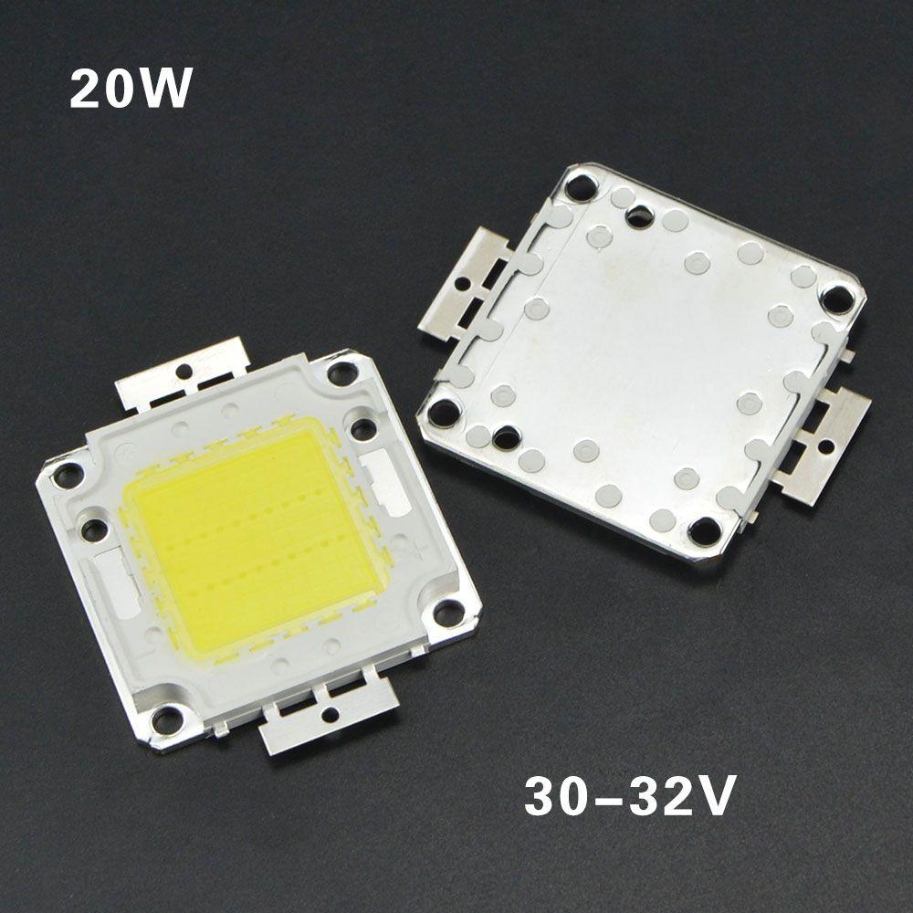 COB chips de LED de 10W 20W 30W 50W 100W LED RGB luz COB Integrado Diodes Bulb lâmpada chip para iluminação Flood luz Projector ao ar livre