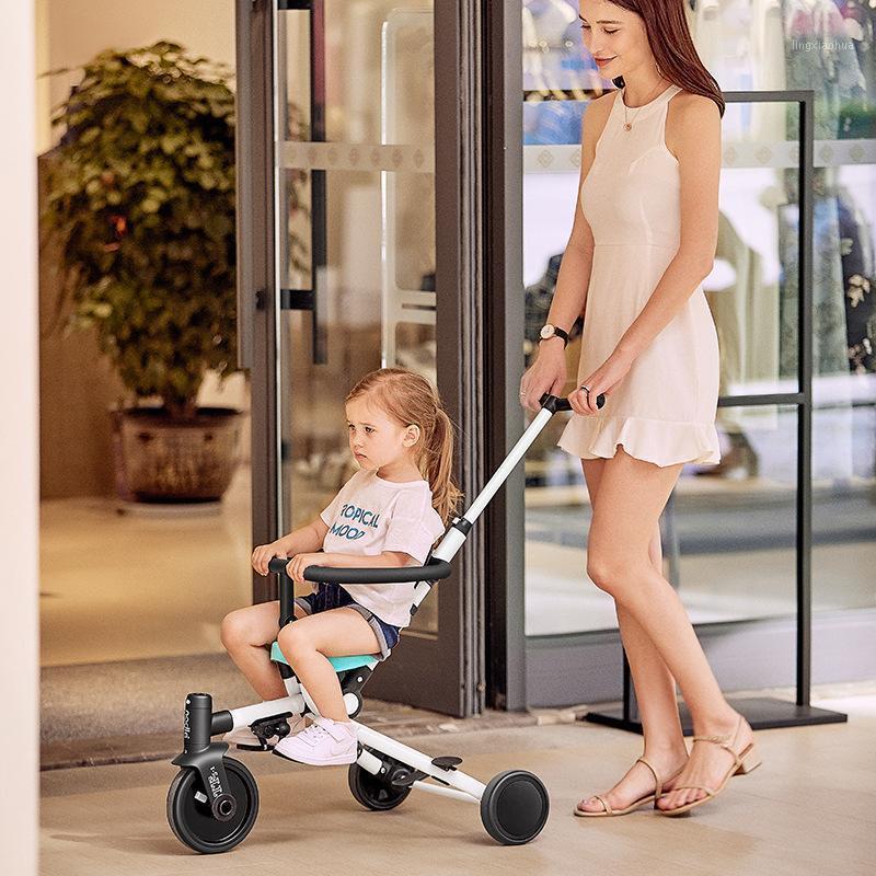 Nadle Light Coche Multifuncional Cochecito de bebé Cochecito de dos vías Deslizamiento de niños Artifact Mano Push Tricycle Foldable1