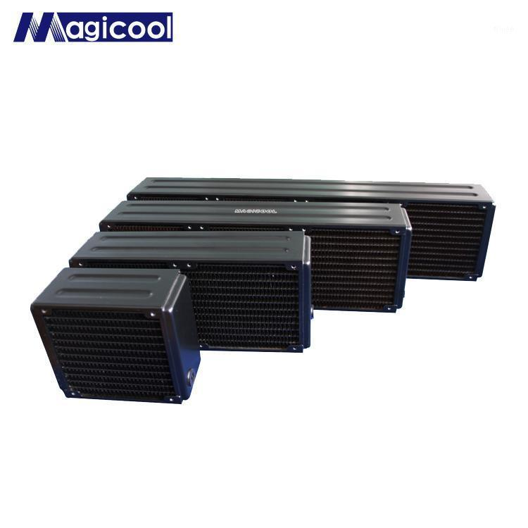 "Magicool CG-G2 65mm Thick 120mm 240mm 360mm 480mm Copper Radiator Computer Water Cooling Heat Sink G1/4 "" Black For 12CM Fan1"