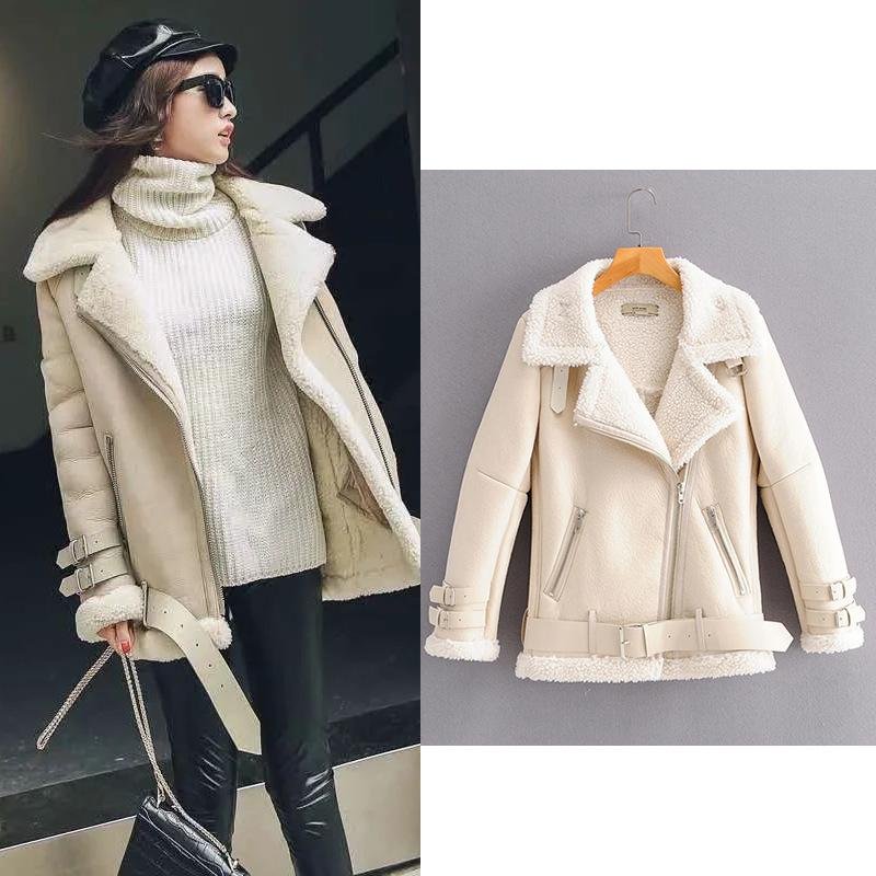 Designer Designer Designer Giacca Real Donne Giacca invernale in pelle PU Winter Waterproof Leather Leather Ladies Cappotti invernali 2020