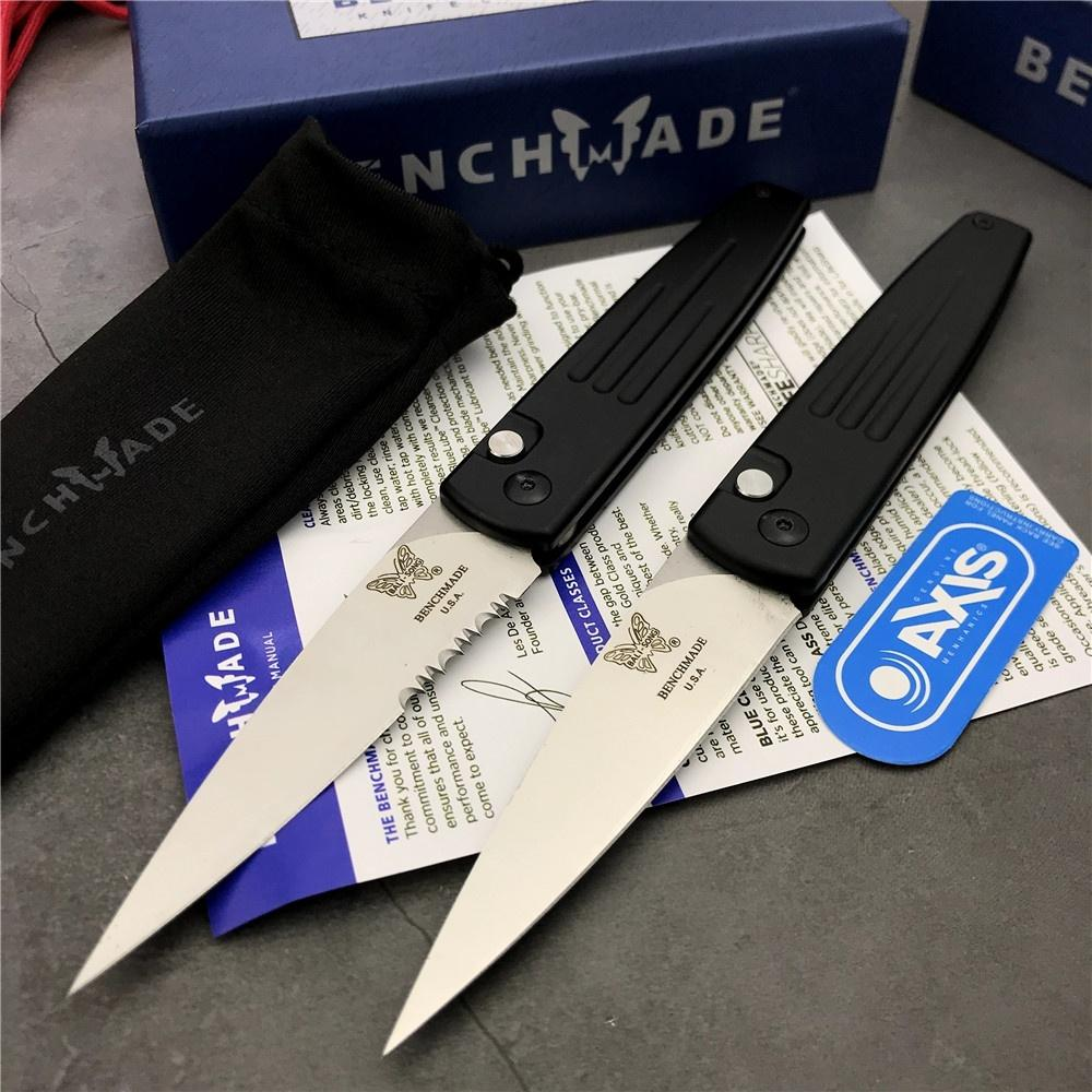 Bench BM 1000 Folding Automatische Messer im Freien Jagd Camping Überleben Selbstverteidigung 940 535 485 781 3300 4600 3400 Micro-Taschenmesser
